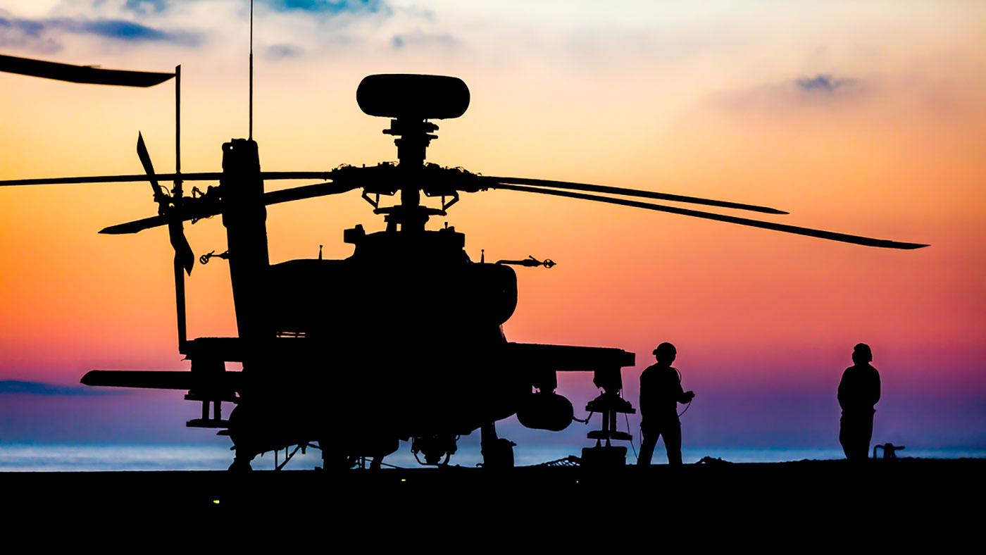 Defence Secretary announces £48 million Apache training contract