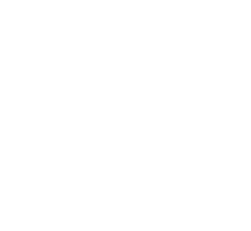 White logo of child with parents