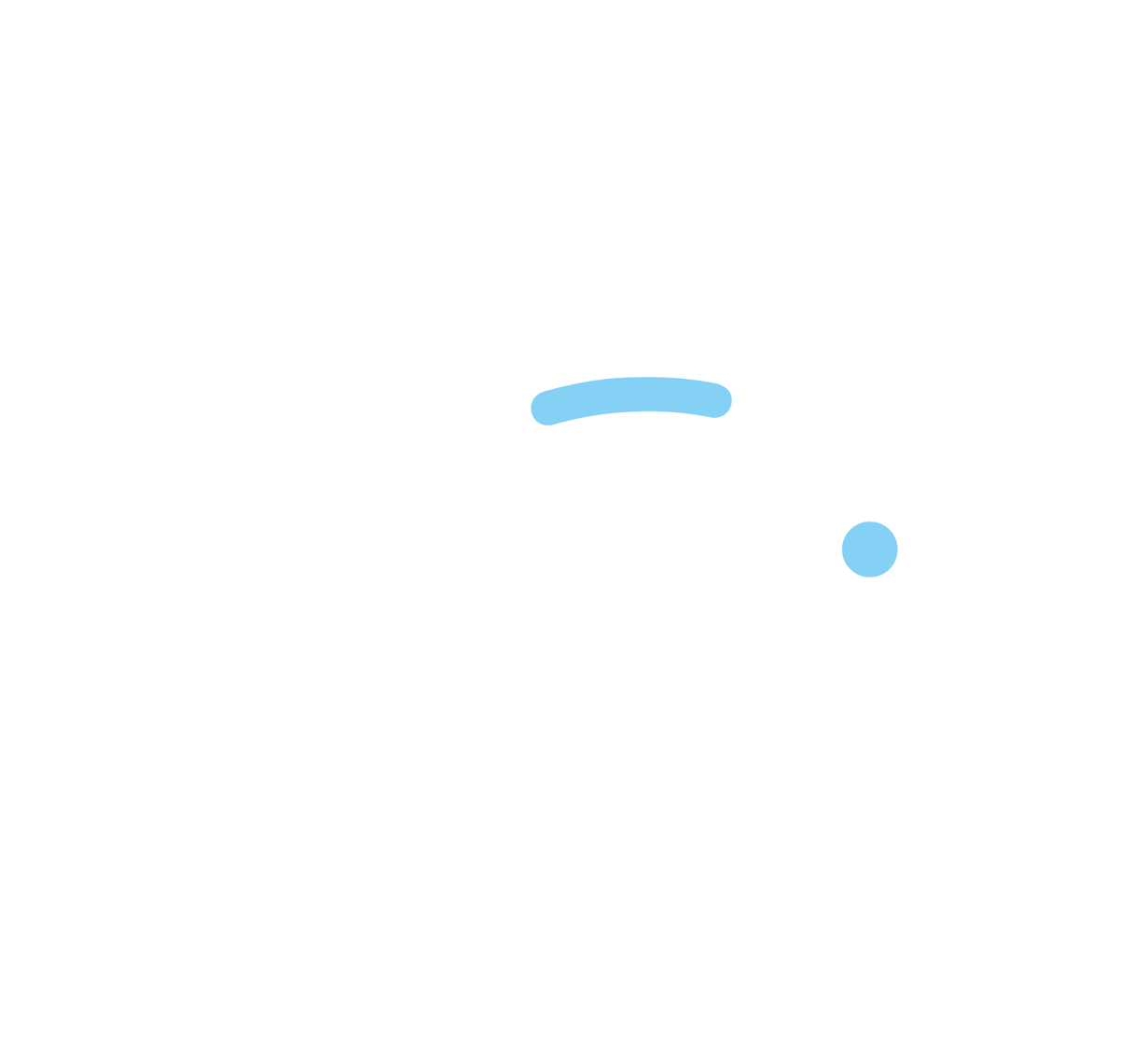 white logo of piggy bank