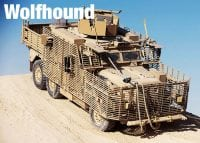 Wolfhound vehicle in operation
