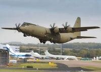 c130J taking off
