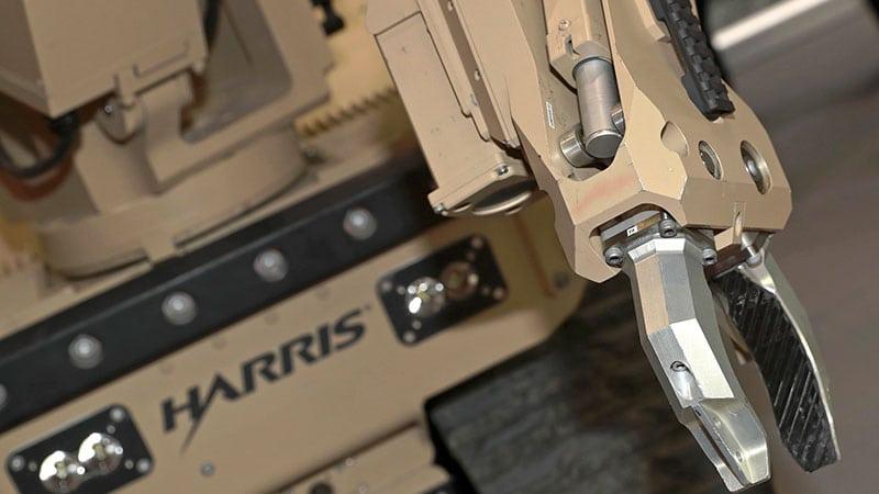 Harris T7 bomb disposal robot