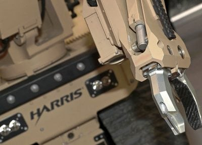 harris starter eod robot close up