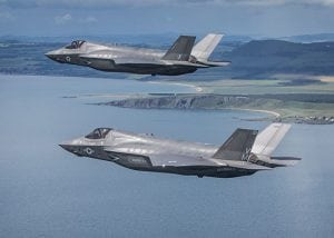 acquisition safety environmental protect role - raf planes flying over coastline