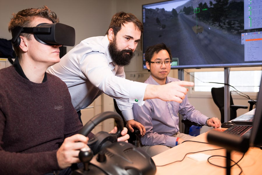 Project Manager guides team through virtual reality project