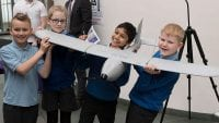 Children take part in Year of Engineering event at DE&S.