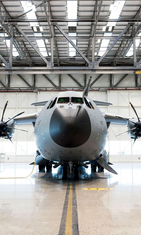 RAF's Atlas transport aircraft at RAF Brize Norton
