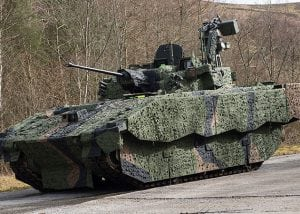 Ajax Shot Detection System on Ajax army vehicle