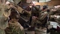 AS90 British Army turret training