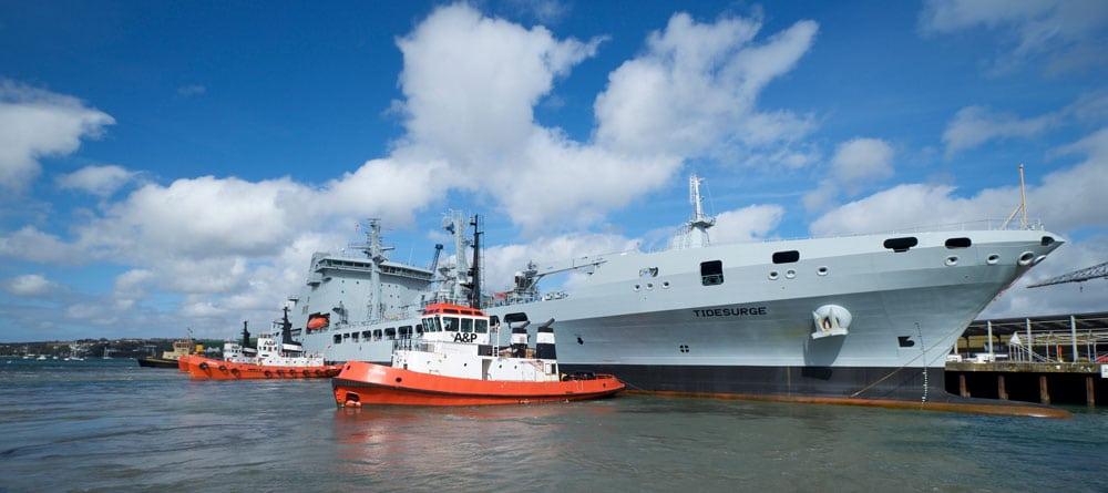 Tidesurge arriving in Cornwall