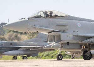 Brimstone weapon to be fitted on Typhoon