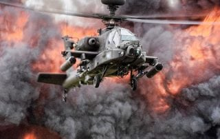 Apache helicopter protection