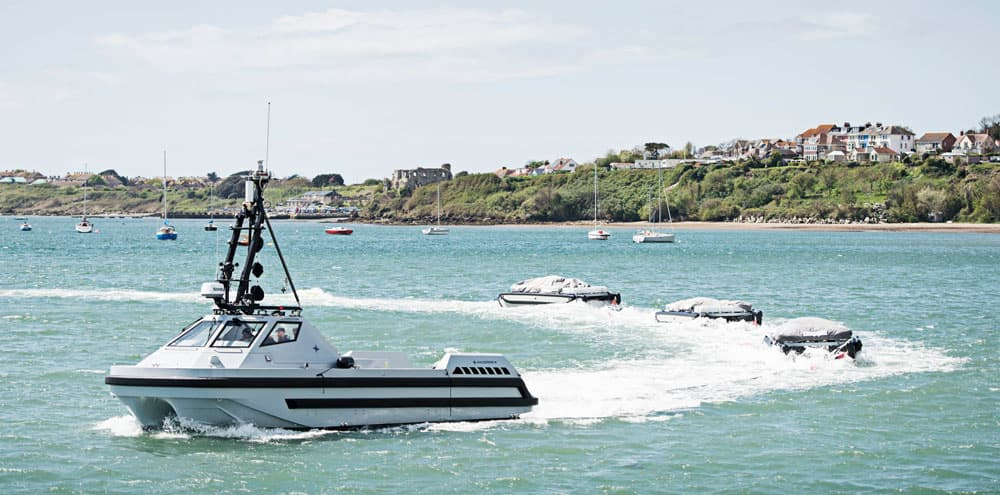Minesweeper tested by Royal Navy