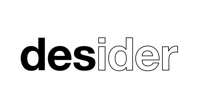 Desider magazine logo black