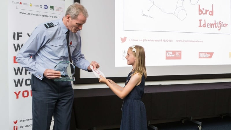 Winners of DE&S supported schools engineering 'Leaders Award' competition announced