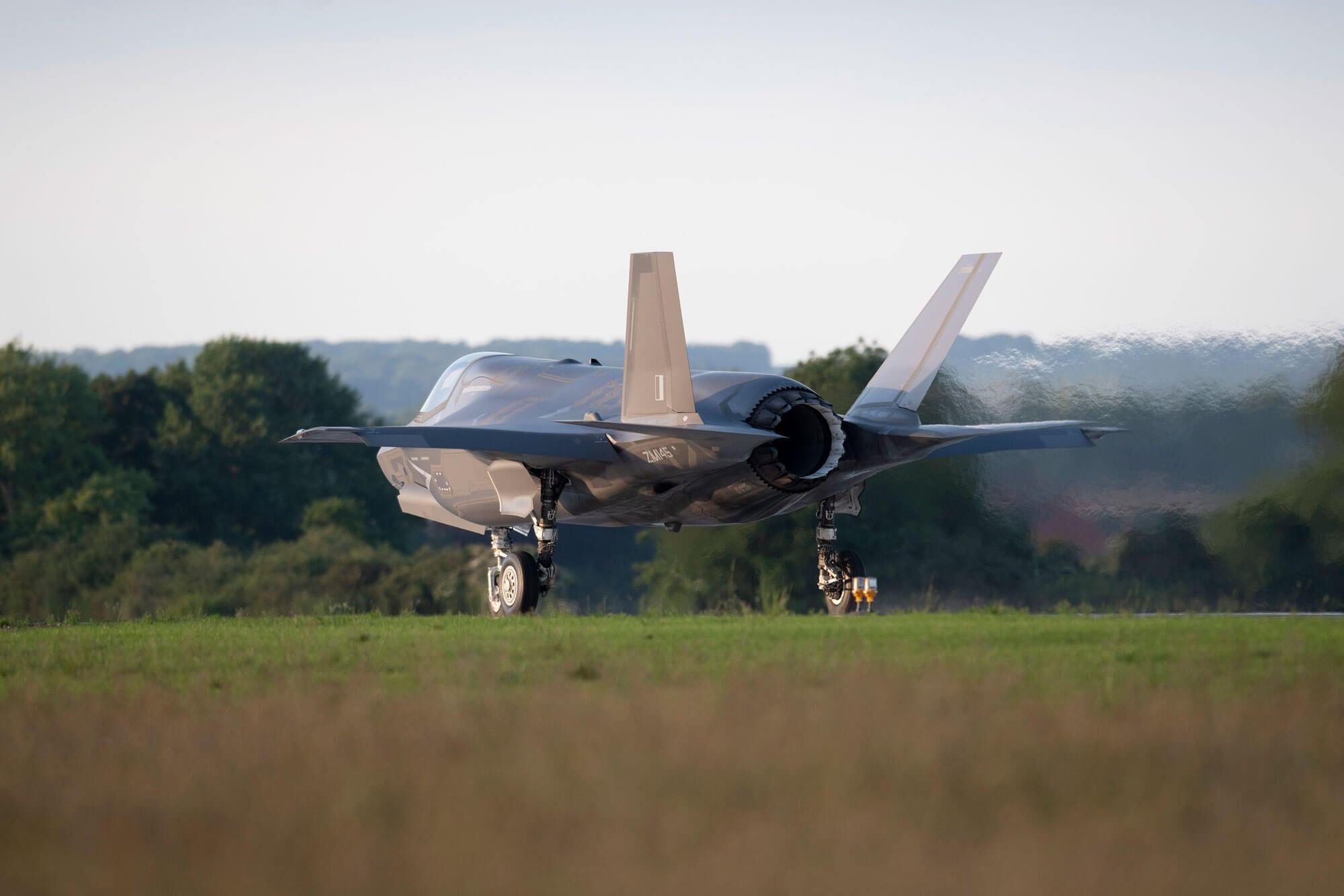 F-35 thrusters