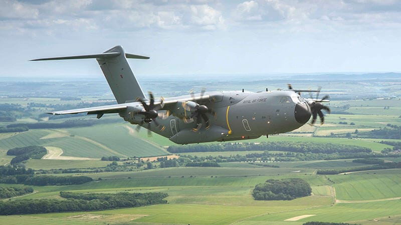 Atlas A400M delivered to RAF.