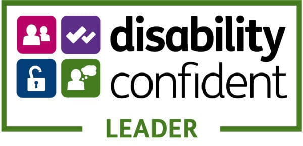 Logo for disability confident leader
