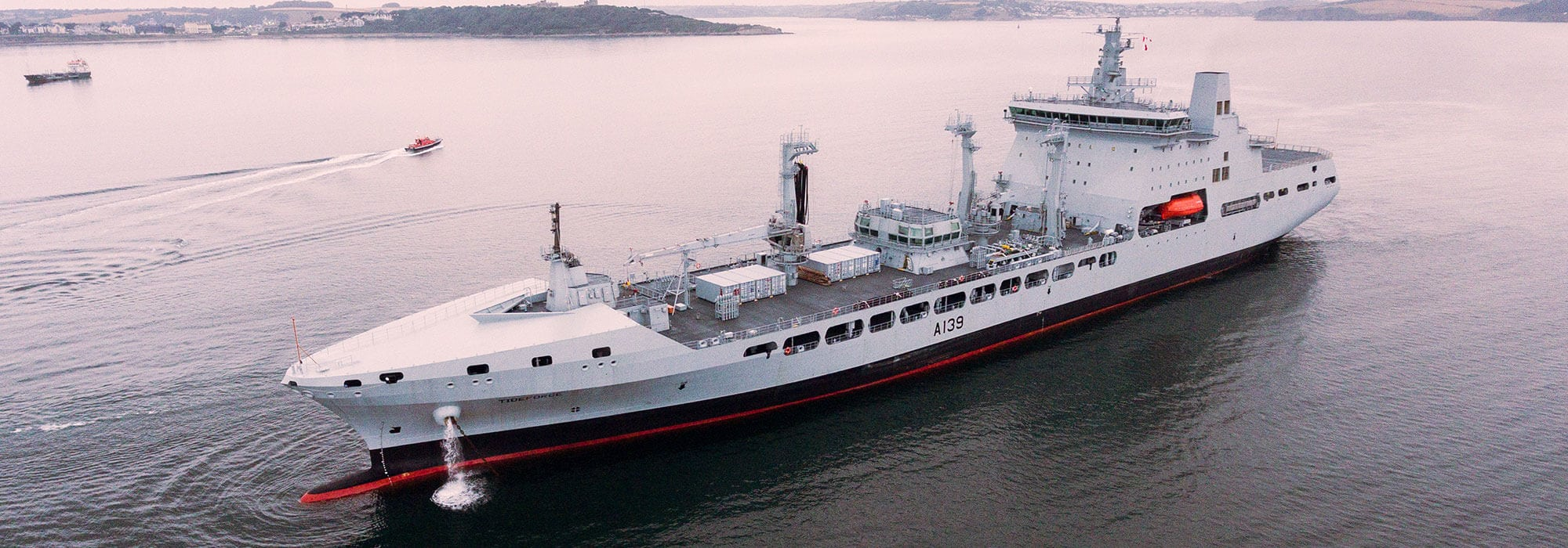 Tideforce the fourth Tide class tanker arrives in UK