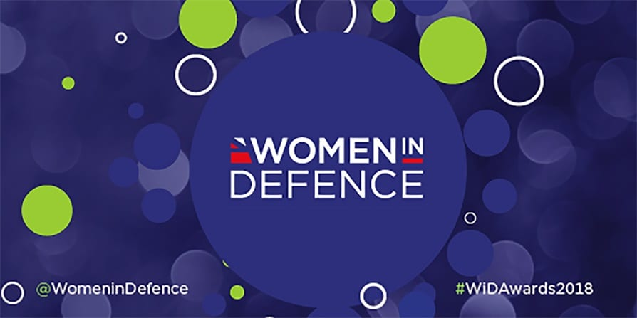 Women in Defence awards logo