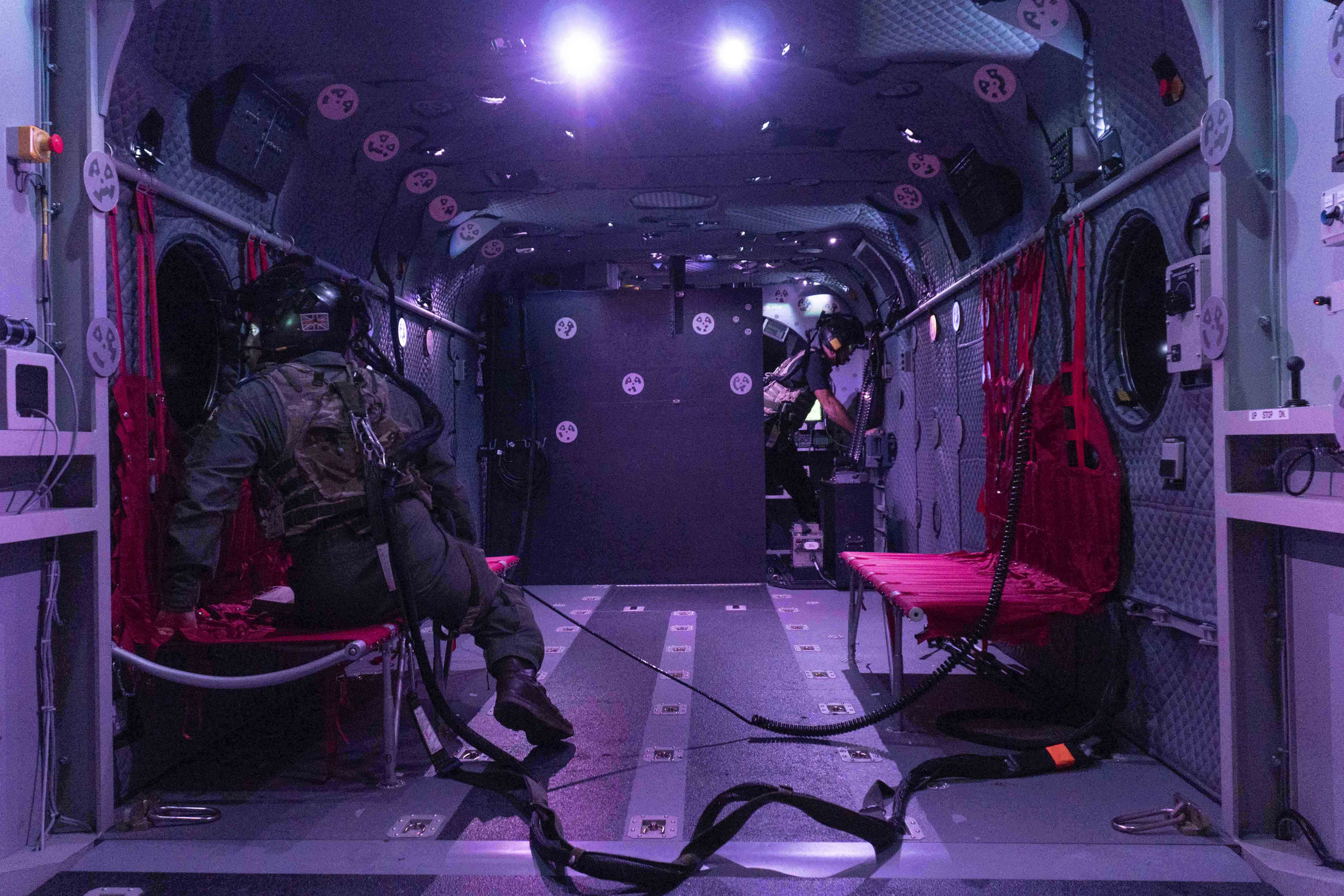 Chinook simulator Defence Equipment & Support