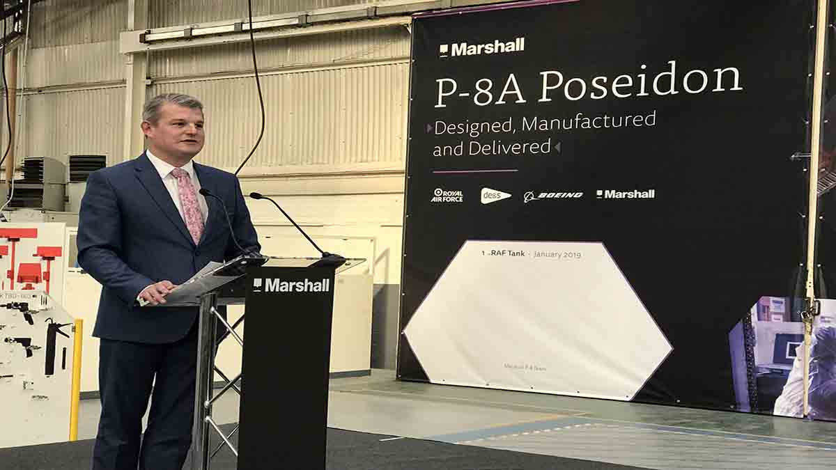 Minister-for-Defence-Procurement-Stuart-Andrew-DE&S-Defence-Equipment-and-Support-P8A