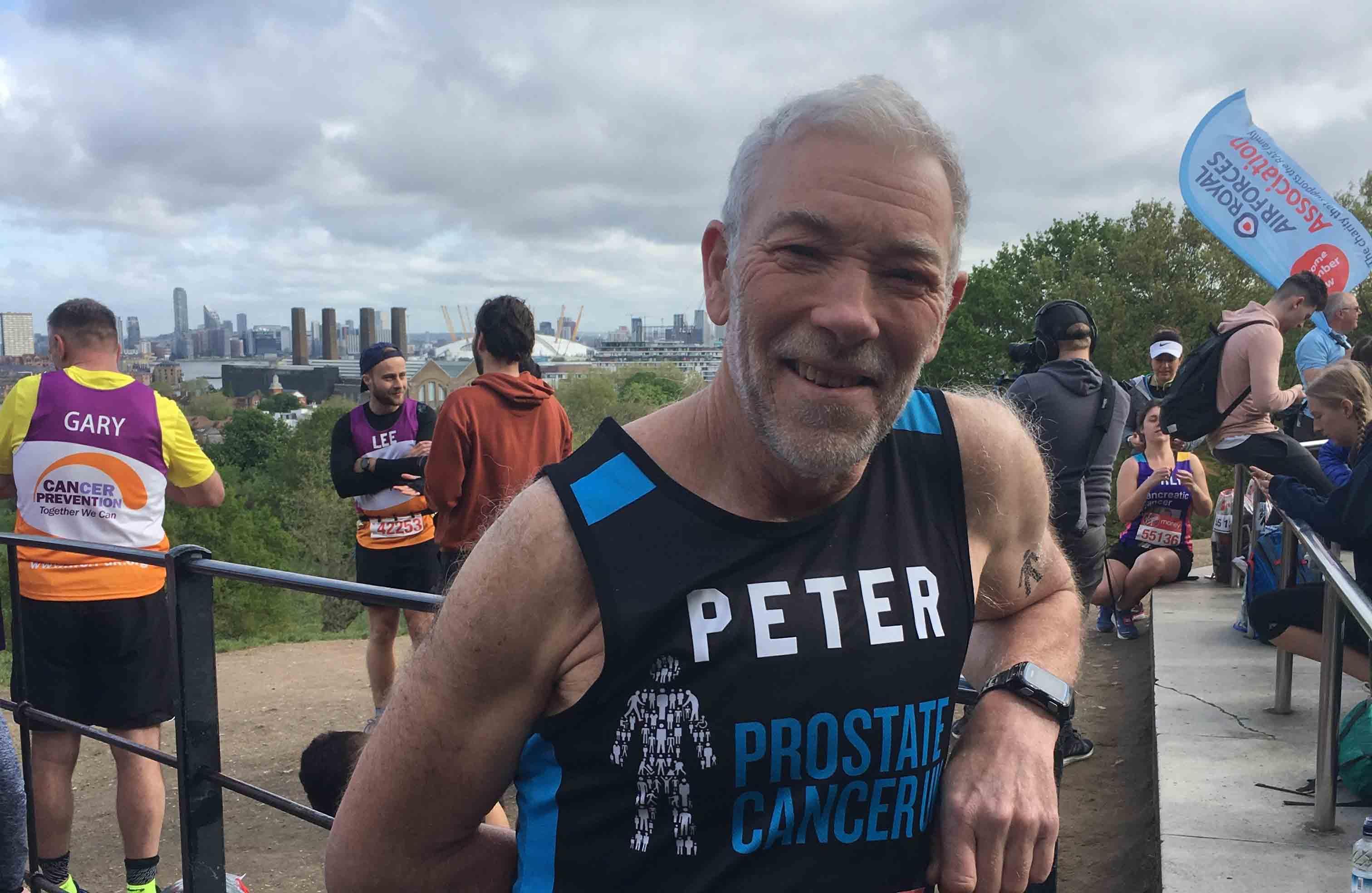 Peter-Wheddon-London-Marathon-DE&S-Defence-Equipment-Support