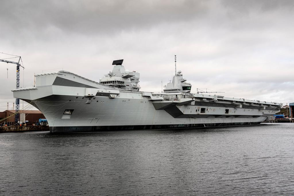 HMS-Prince-of-Wales-Aircraft-Carrier-Royal-Navy-Defence-Equipment-and-Support-DE&S
