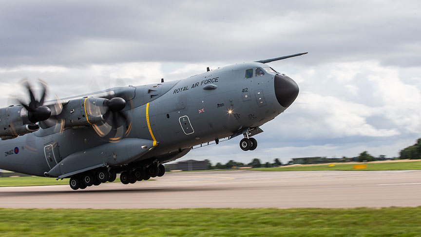 Atlas-A400M-Royal-Air-Force-DE&S-Defence-Equipment-and-Support-Covid-19