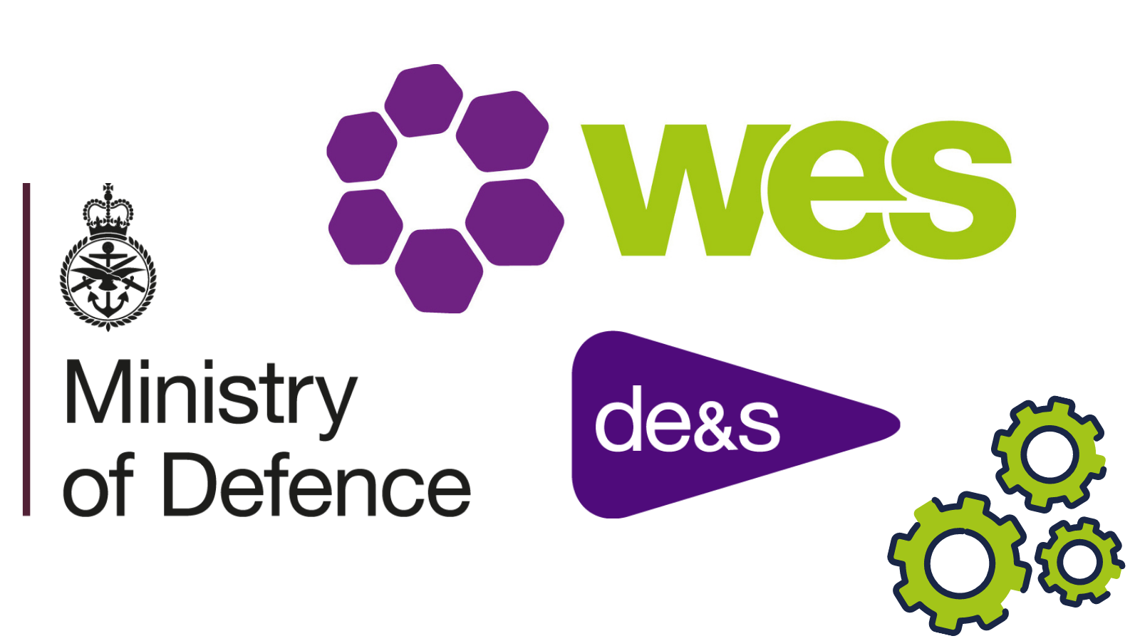 DE&S and WES logos